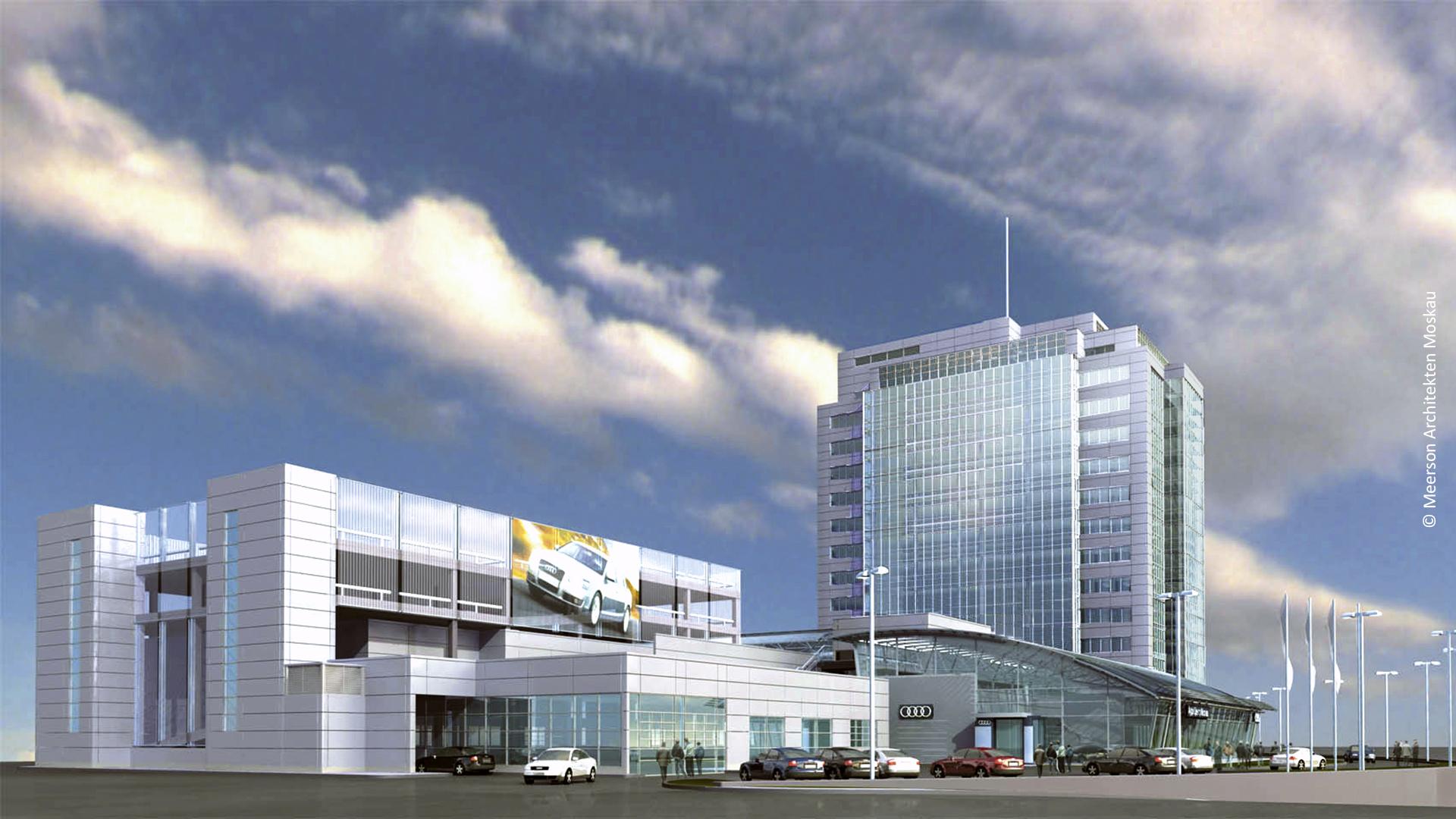 Audi Headquarter, Moskau