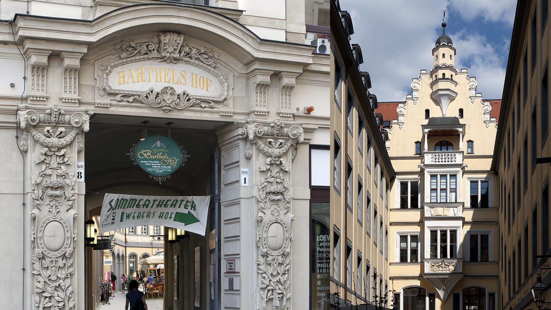Barthels Hof, Leipzig
